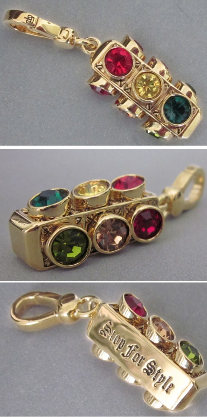 Traffic Lights · Juicy Couture Charmssilver Locketstraffic Lightcharm  Braceletspandorapeachjewelerychildhoodjewelry