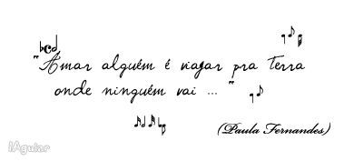 Um Ser Amor - Paula Fernandes (Composição: Paula Fernandes)