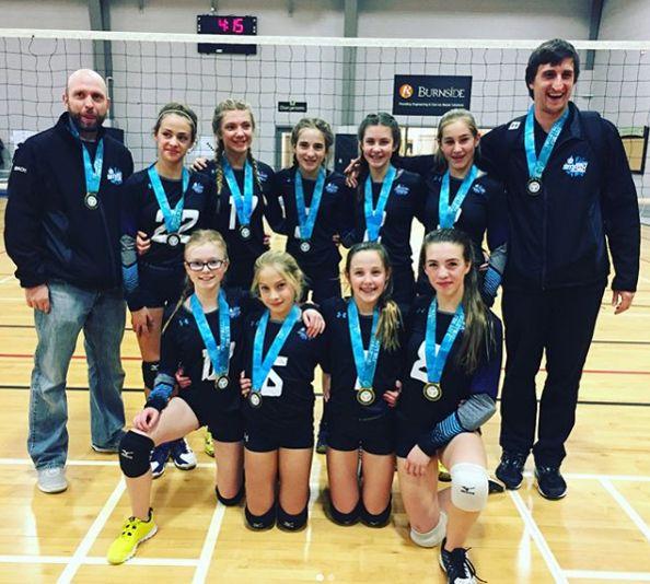 Photo Courtesy Hamilton Smash Volleyball Club Volleyball Volleyball Clubs Volleyball Team