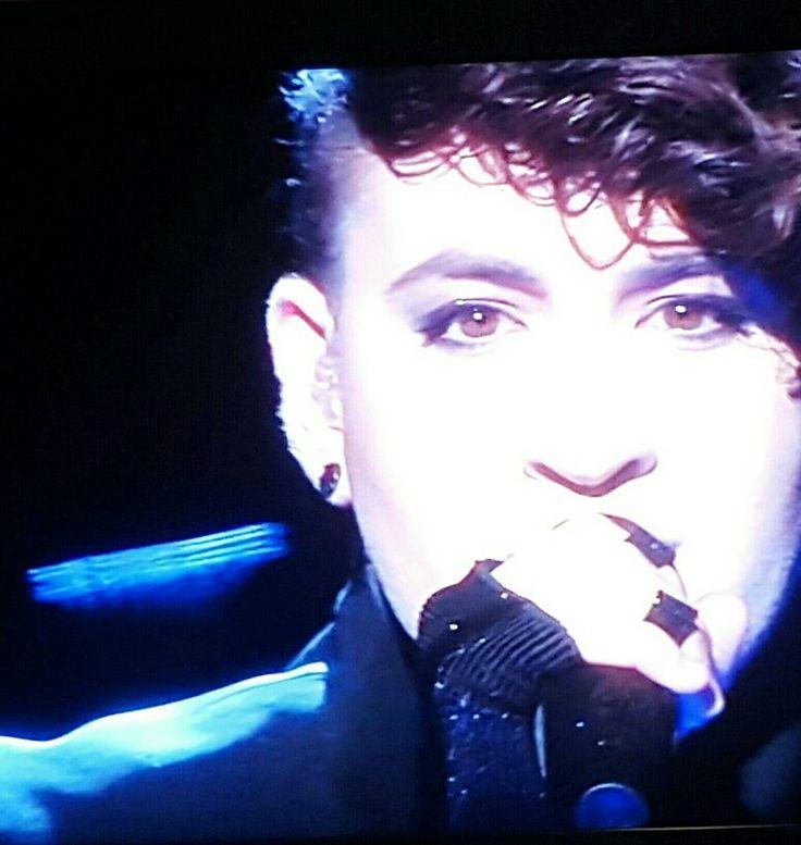 "Hovi Star (Israel) singing ""Made of Stars"" semi-final 2 Eurovision 2016. Brilliant performance"