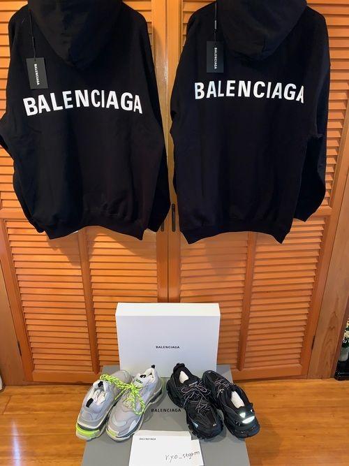 check out c4e33 e0270 酒田のゴミカス|BALENCIAGAのパーカーを使ったコーディネート ...