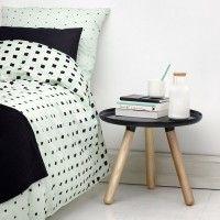 Normann Cube Bed Linen Mint