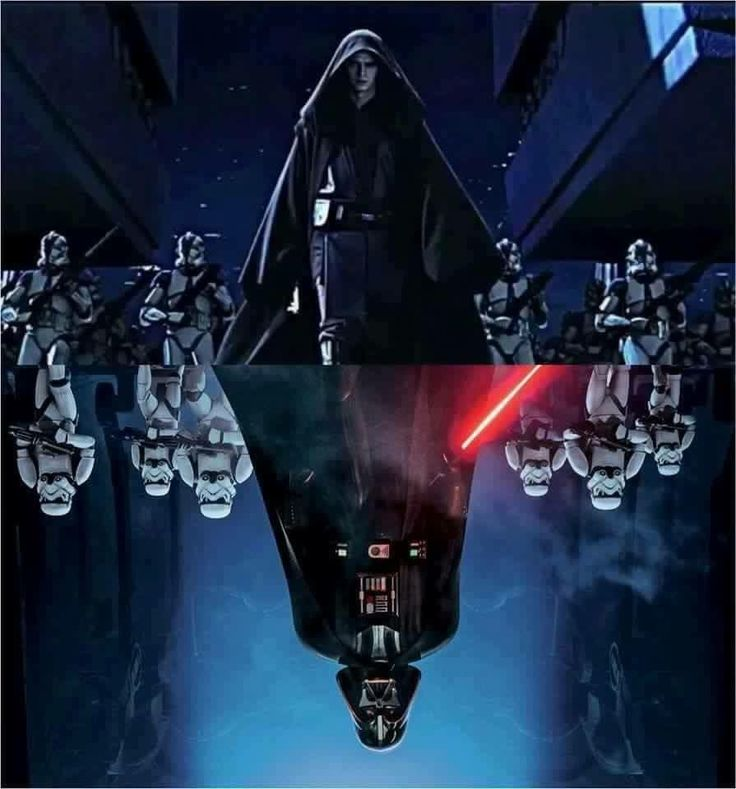 Parallel reference between Episode III and Rebels