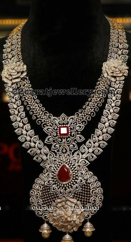 Two Layer Diamond Long Set