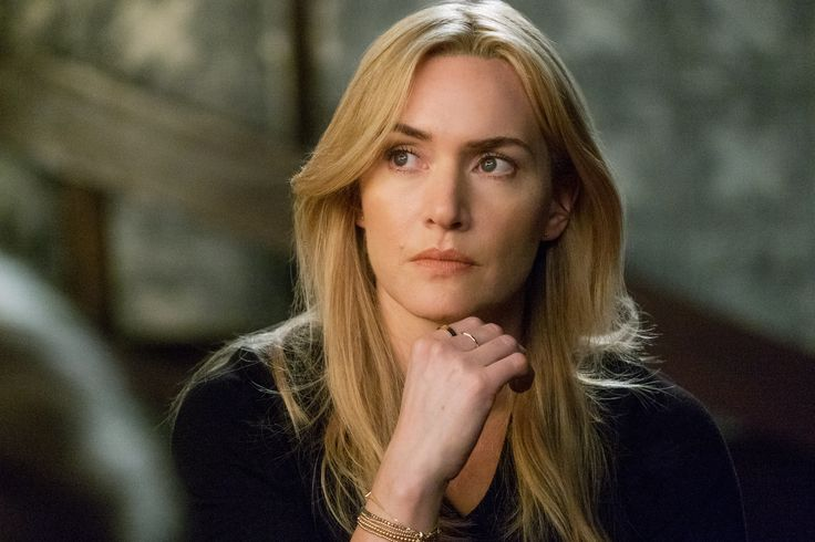 """Collateral Beauty"" movie still, 2016.  Kate Winslet as Claire Wilson."