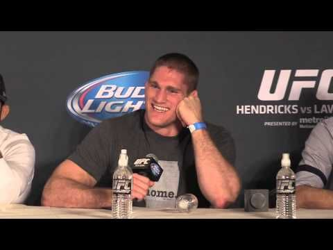 Todd Duffee Excited to be in a Fight (UFC 181 Post Press) - YouTube
