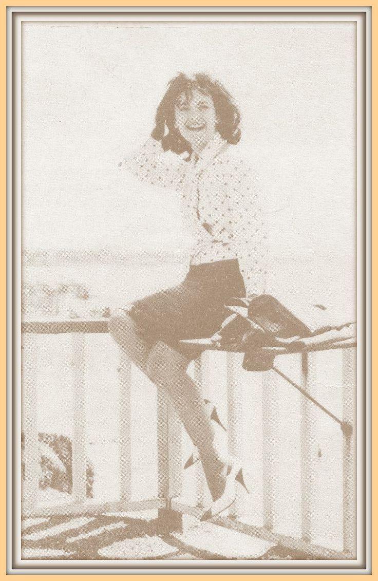 Jeni Karezi in Athens 50 years ago!