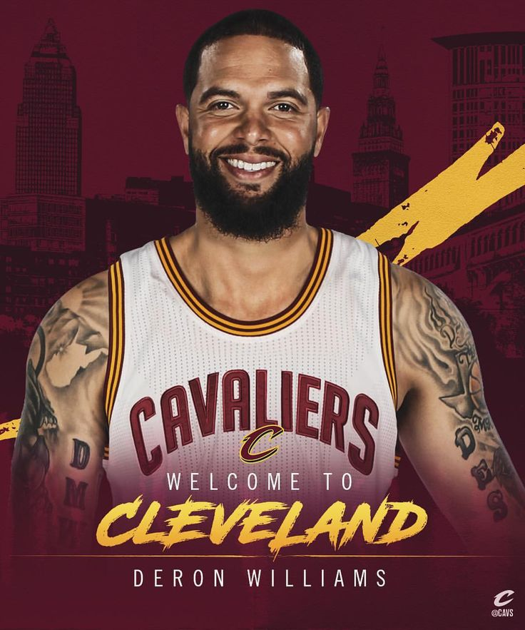 OFFICIAL: Welcome to The Land, @dwill8! (at Quicken Loans Arena)