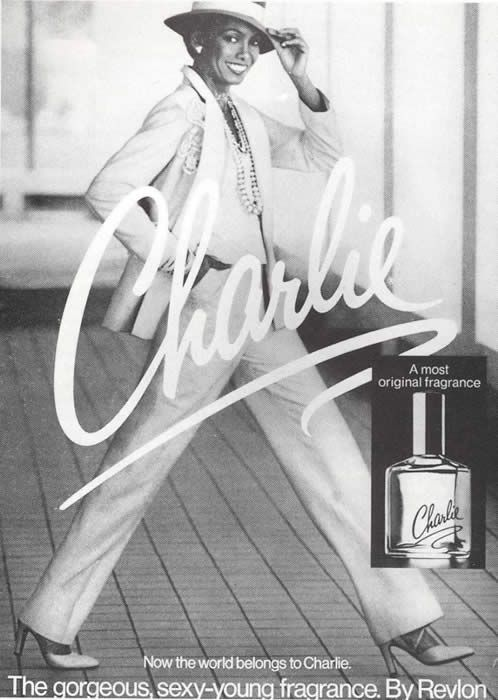 Darnella Thomas in one of her groundbreaking ads from the legendary Charlie fragrance campaign in the 1970s.    From Black and Beautiful: How Women of Color Changed the Fashion Industry by former Ford model Barbara Summers