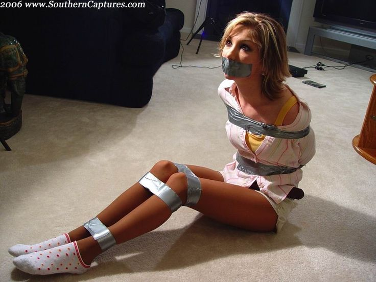 Tied up with duct tape mom xxx picture