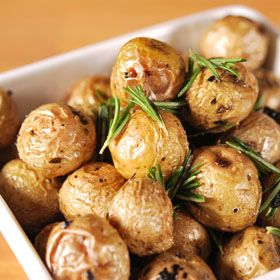 Garlic Roasted Potatoes, from ATCO Blue Flame Kitchen.