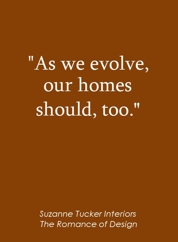 Home Design Quotes Part - 16: Quote Van Suzanne Tucker Interiors - The Romance Of Design