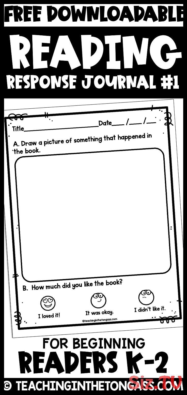 Reading Log Printable Free Free Kindergartenliteracy Log Printable Re Reading Response Journals Reading Response Journal First Grade First Grade Reading [ 1553 x 736 Pixel ]