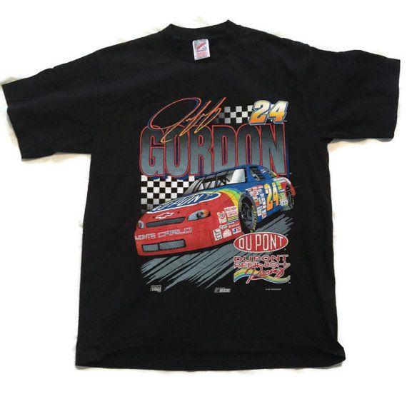 90's Jeff Gordon Tshirt / 1990's Nascar Racing by RetroFreshTees, $32.00