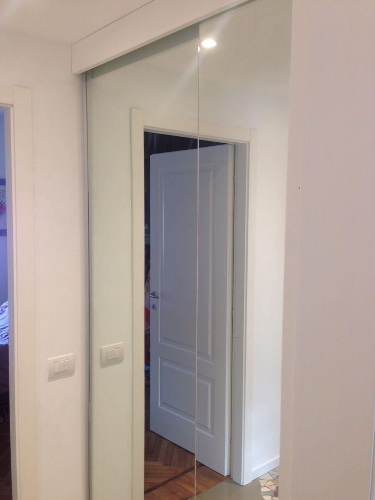 Cabina armadio con ante a specchio