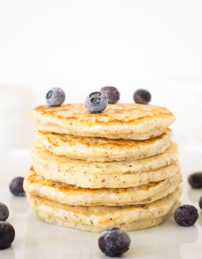 Vegan Pancakes | Selected for my (Lunch + Snack Time Inspiration Board), sponsored by Del Monte
