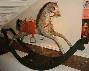 Rocking hobby Horses | ... rocking horse. The manufacture of rocking horses was a skilled craft