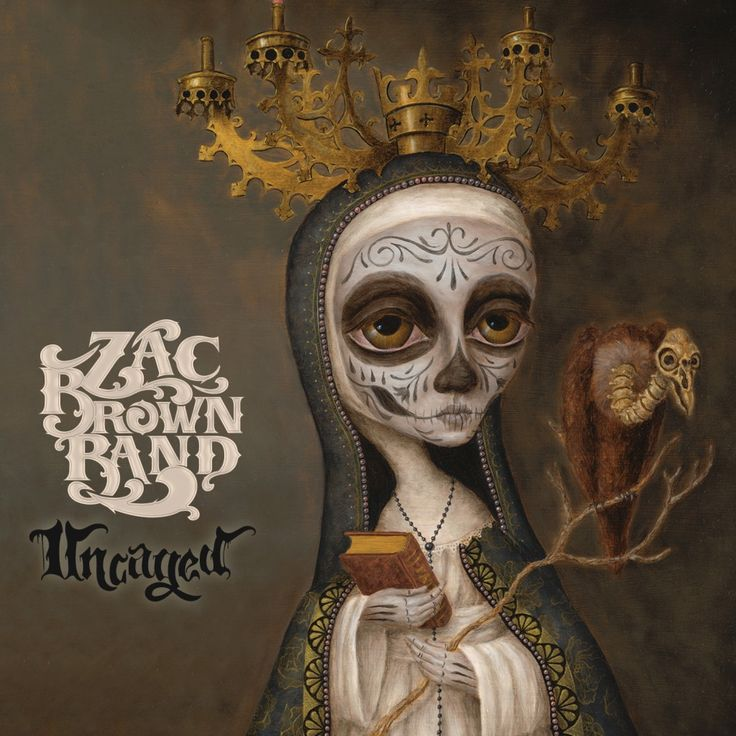 LOVE this cover art. - Zac Brown Band Reveals Album Art And New Single From Forthcoming Album 'Uncaged'