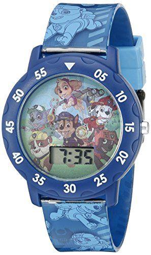 Nickelodeon Kids' PAW4000 Paw Patrol Digital Display Quartz Multi-Color Watch | MyPointSaver