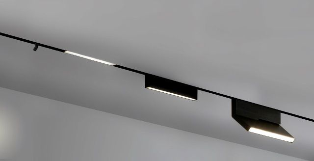 On line linear track system by Bart Lens & Eden Design