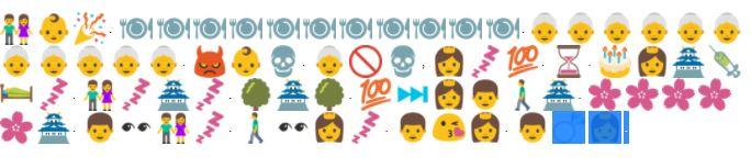 Grimm's Little Briar Rose emoji tale post