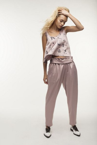 Pink princess trousers