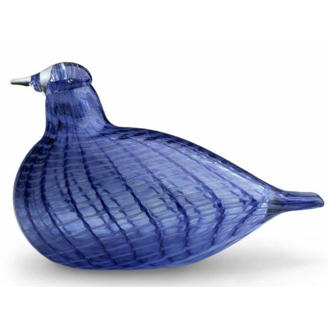 Iittala Birds by Toikka, Blue bird, 85 x 130 mm