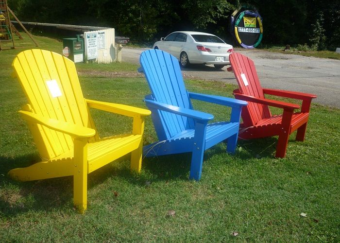 Awesome Painted Adirondack Chairs ~ http://lanewstalk.com/the-rustic-adirondack-chair/