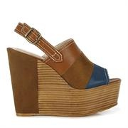 Accessorizing can be all about a fantastic pair of shoes, and in this case, a fantastic pair of shoes that will go with almost anything! I love the wedge - especially this season, and these are budget friendly, and adorable shades of brown and blue. For super serious height, go and grab some now! $49.99! xo
