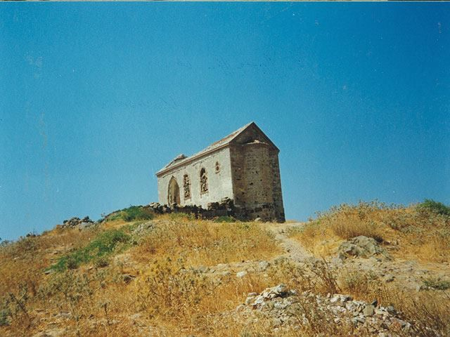 The church of Saint John i Koula, Moschonisi