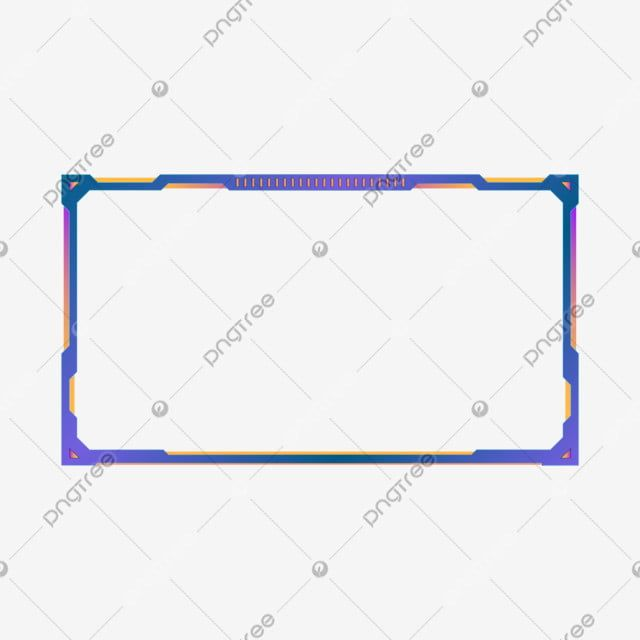 Streaming Overlay Frame For Gaming Border Border Clipart Live Vector Png And Vector With Transparent Background For Free Download Geometric Background Overlays Joker Wallpapers