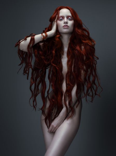 Rapunzel ~ Judith Bedard by Paco Peregrín for TWILL #red #hair