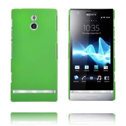 Hard Shell (Grønn) Sony Xperia P Deksel