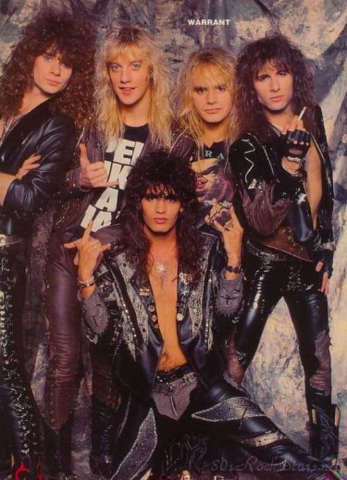 warrant the band - Google Search