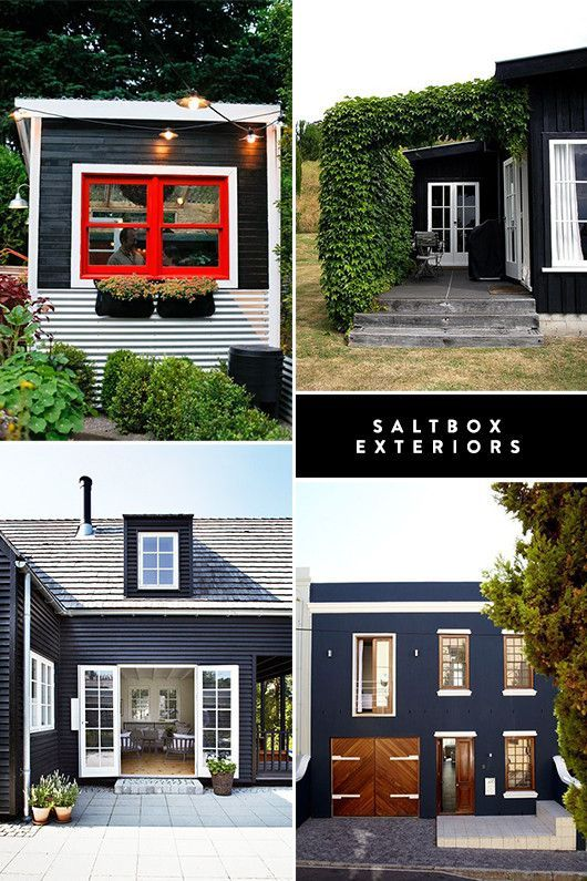 Paint Colors Black House Exteriorhouse