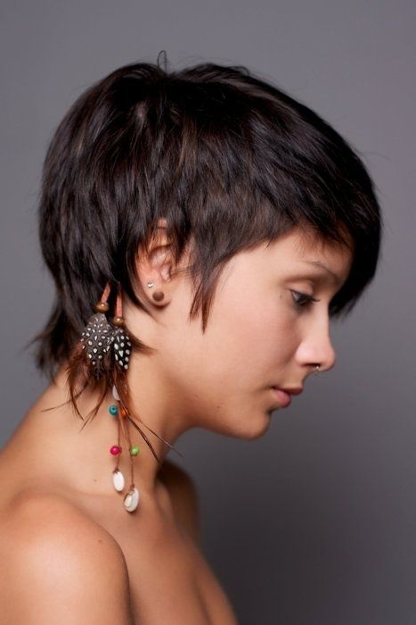 long pixie haircuts with shaggy nape - Google Search