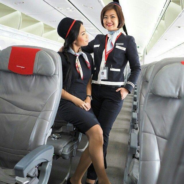 Norwegian Air Stewardess Crewfie @mesiamese   Flight ...