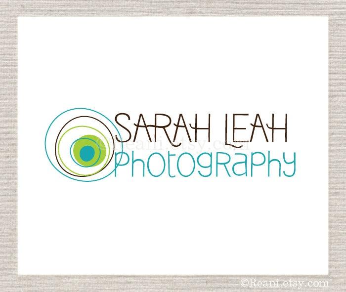 Photography Logo Design - Custom Premade Lens Circles By ReaniDesigns on Etsy. $95.00, via Etsy.