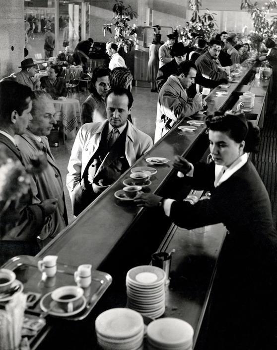 ITALY. Rome. Termini station. 1950..