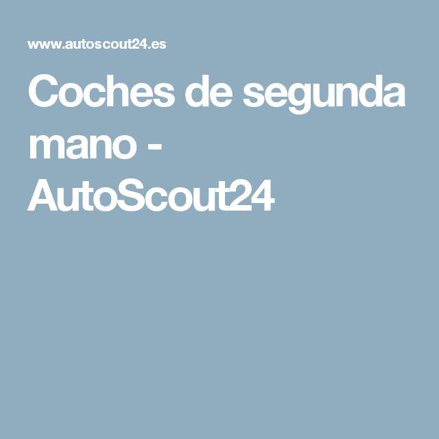 Coches de segunda mano - AutoScout24