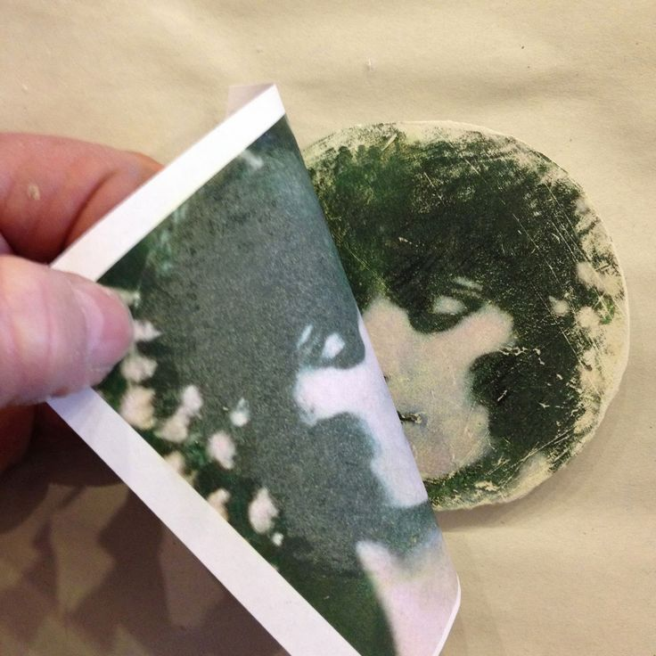 Image transfer on Creative Paperclay®
