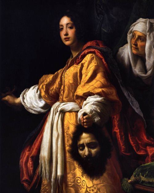 Judith with the Head of Holophernes, by Cristofano Allori, 1613.  Book of Judith