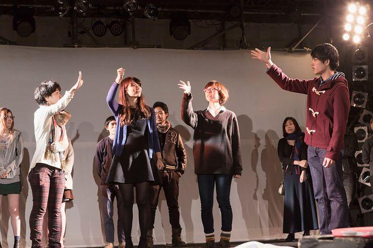 中央ステージにて 展示の人気を競う展示大賞の授賞式