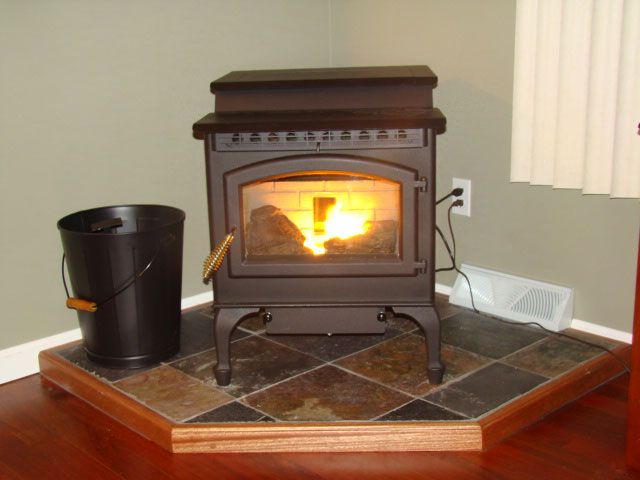Awesome Installing A Pellet Stove In A Basement