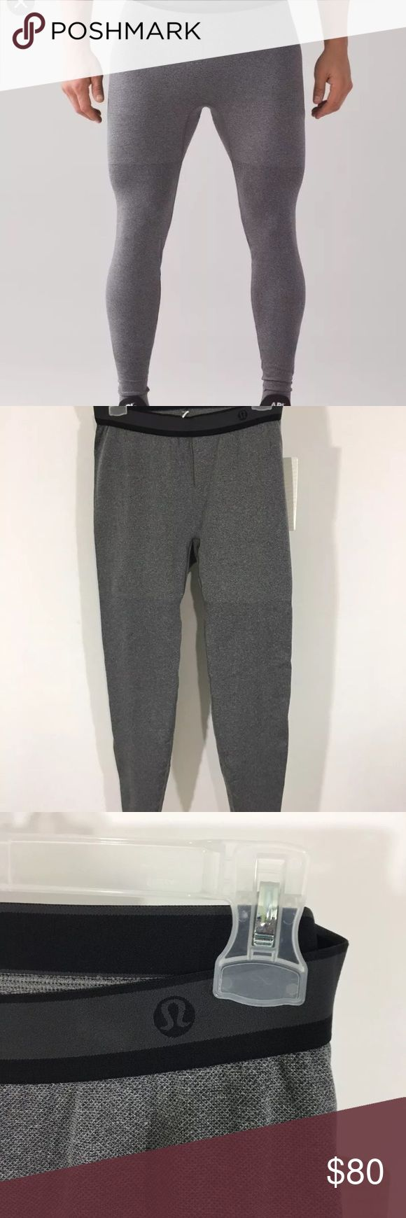 Lululemon Men's Tights Metal Vent Tights Large Lululemon Metal Vent Tights. These Tights are a size large and in perfect condition. perfect gift for someone who lives an active life! lululemon athletica Pants Sweatpants & Joggers