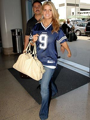 love me a cowboys jersey and jeans