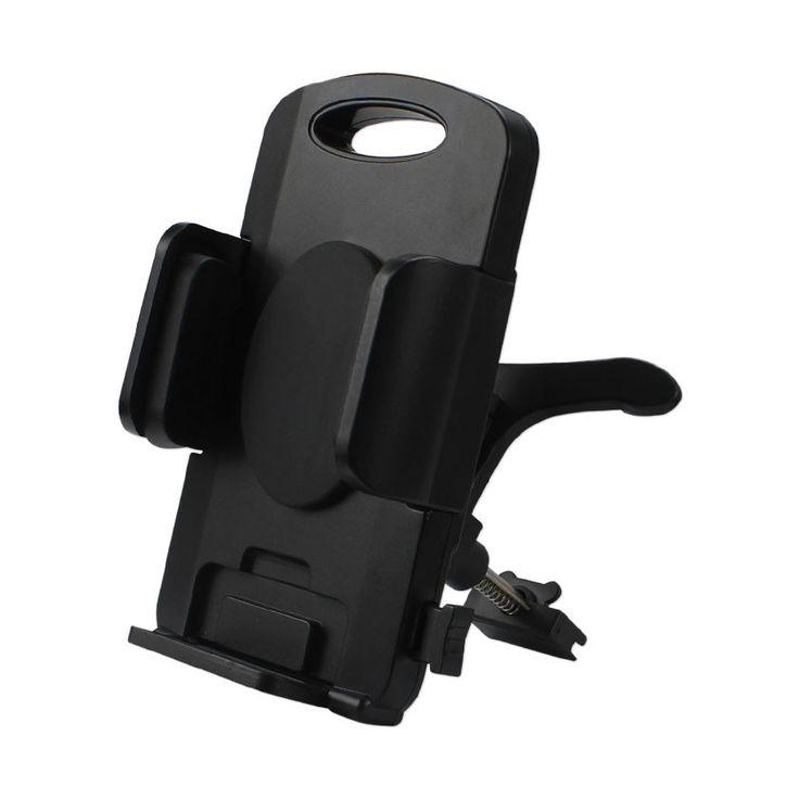 REIKO 360 AIR VENT MOUNT CAR PHONE HOLDER IN BLACK