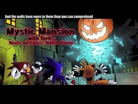 "HALLOWEEN ""Mystic Mansion With Lyrics"" Sonic Heroes - YouTube"