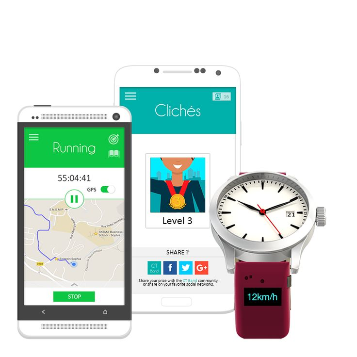 CT Band App #app #ctband #running #wearable