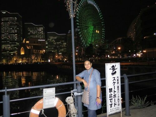 Yokohama in the night